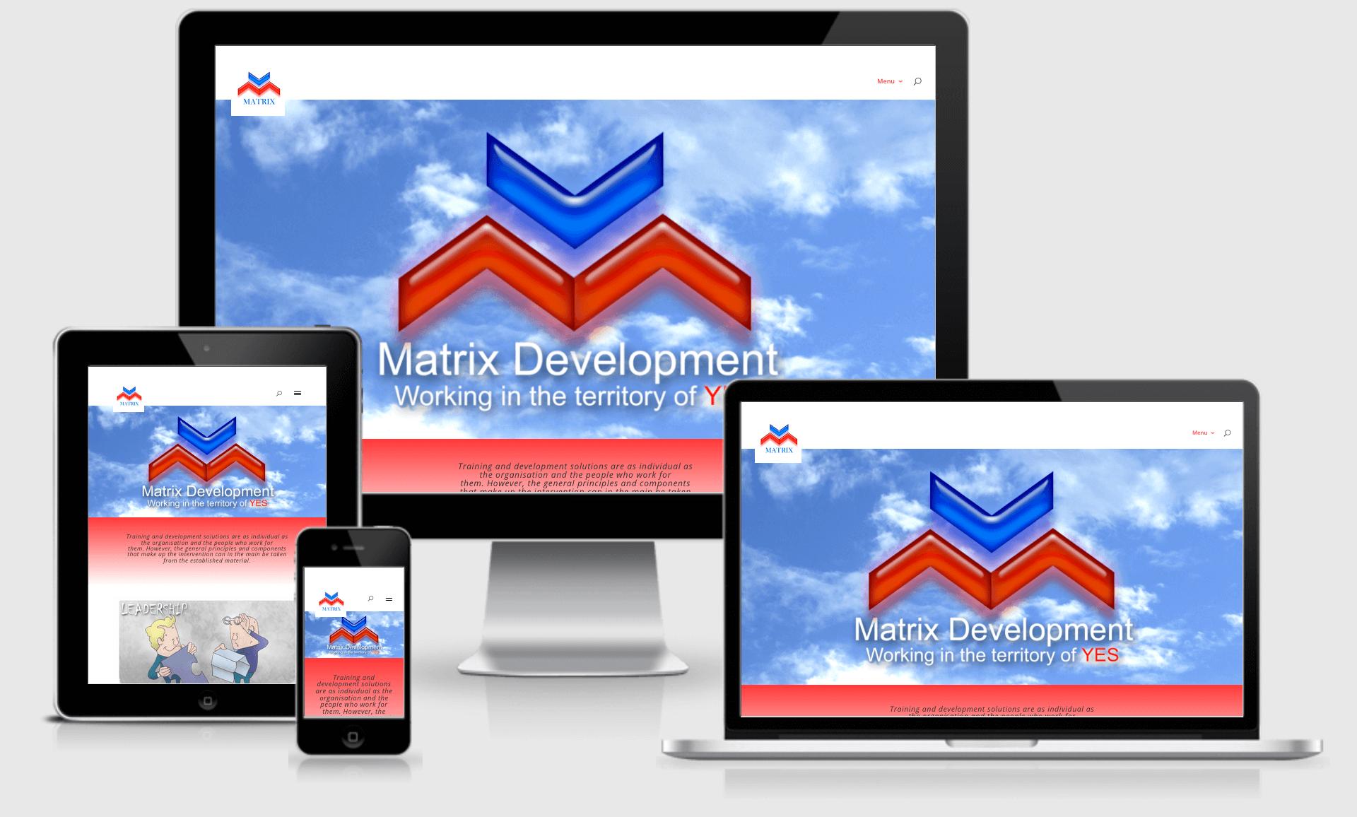 Matrix Development - multiple screen displays
