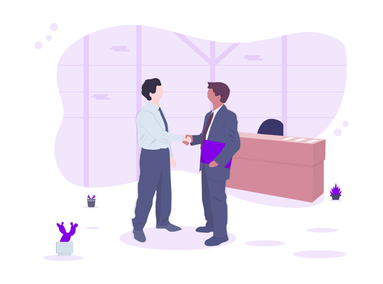 business agreement graphic